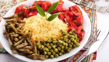 Булгур с овощами